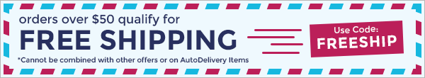 FREE SHIPPING - Orders over $50