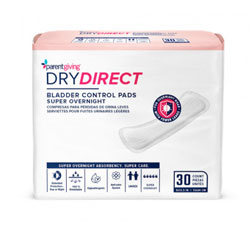Dry Direct Overnight Bladder Control Pads