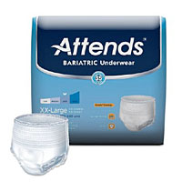 bariatric diapers, bariatric briefs, plus size incontinence underwear