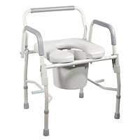 commode chair, adult potty chair, toilet chair