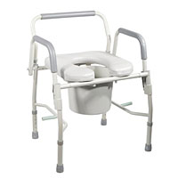 commode, commode toilet, 3 in 1 commode