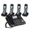CLARITY-E814CC4 Amplified Corded/Cordless Combo with 4 Spare Handsets