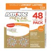 Rayovac Proline Advanced Mercury-Free Hearing Aid Batteries
