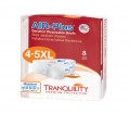 Tranquility Air Plus Bariatric Disposable Stretch Briefs Heavy Absorbency