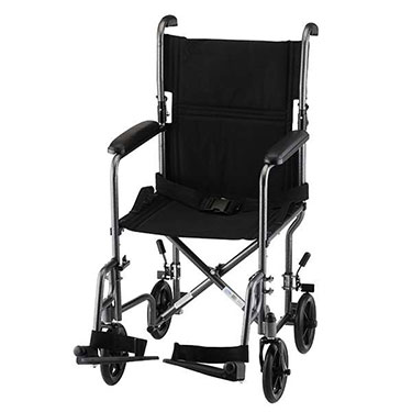 19 Inch Steel Transport Chair by Nova