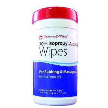 70% Isopropyl Alcohol First Aid Wipe
