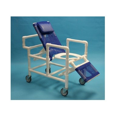 900 Series Deluxe PVC 22.5 Inch Reclining Shower Chair