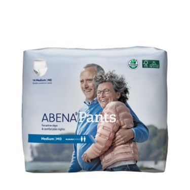Abena Pants Pull On Underwear Moderate Absorbency