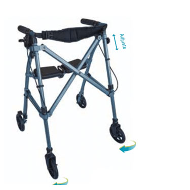 Able Life Space Saver Rollator