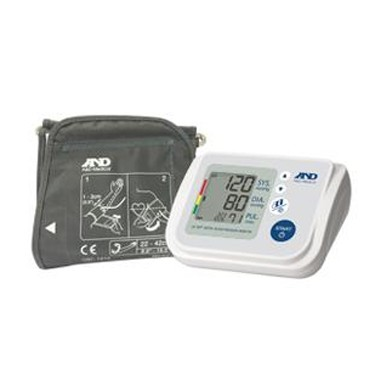 A&D Medical Upper Arm Automatic Blood Pressure Monitor with AccuFit Plus Cuff