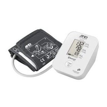 A&D Medical Upper Arm Blood Pressure Monitor with Bluetooth
