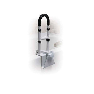 Adjustable Height Bathtub Grab Bar Safety Rail by Drive Medical
