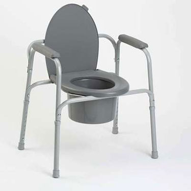 All-In-One Aluminum 3-in-1 Commode by Invacare