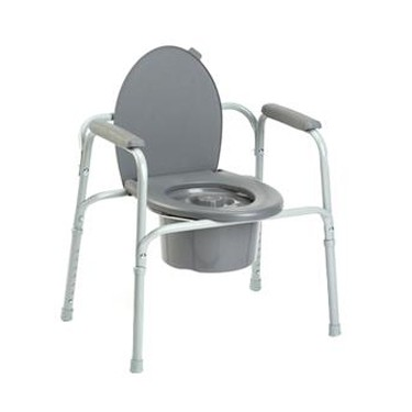All-In-One Steel Commode by Invacare