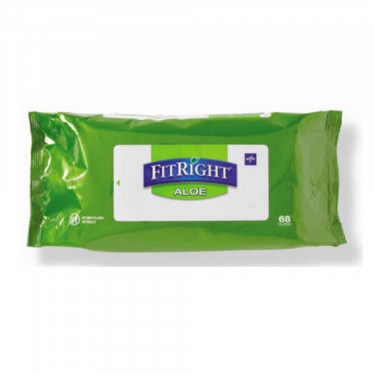 FitRight Aloe Personal Cleansing Wipes - Scented