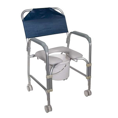 Roll In Shower Commode Chair by Drive Medical