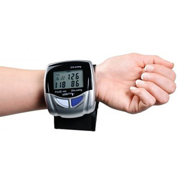 Automatic Wrist Blood Pressure Monitor and Lumiscope