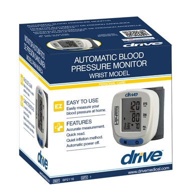 Automatic Wrist Blood Pressure Monitor by Drive