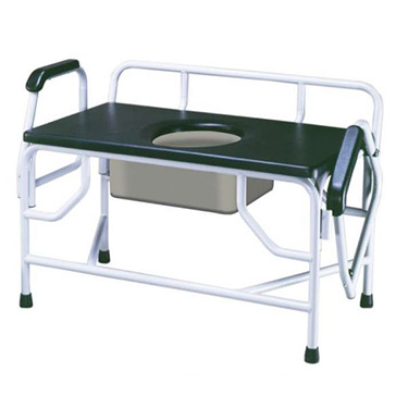 Bariatric Extra Large Drop-Arm Commode By Drive