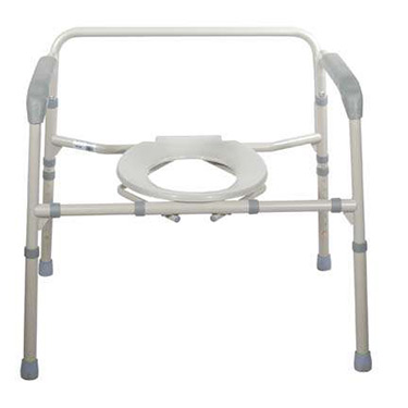 Bariatric Folding Bedside Commode by Drive Medical