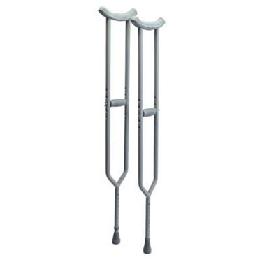 Bariatric: Imperial Steel Crutches