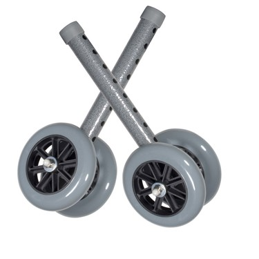 Bariatric Walker Wheels with Glides