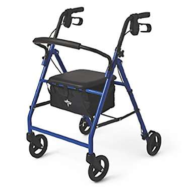 Medline Value Priced Steel Rollator with 6