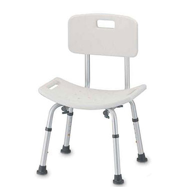 Bath and Shower Seat with Back by Nova