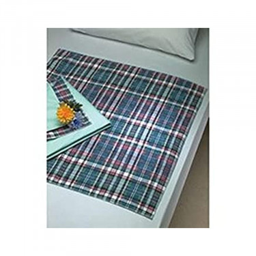 Beck's Classic Plaidbex Reusable Underpad Heavy Absorbency
