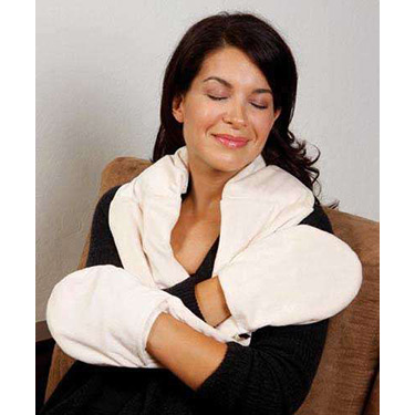 Bed Buddy Naturals Plush Neck & Hand Wrap