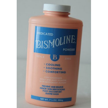 Bismoline Body Powder