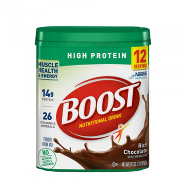 Boost High Protein Rich Chocolate Drink Powder Mix