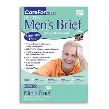 CareFor Ultra Reusable Mens Incontinence Briefs