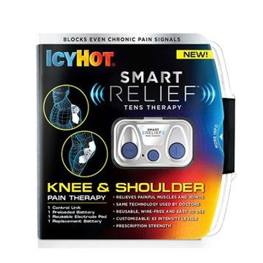 Chattem Icy Hot Smart Relief TENS Therapy Knee and Shoulder Starter Kit
