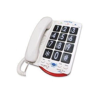 Clarity JV-35 Amplified Big Button Phone With Talk Back Numbers