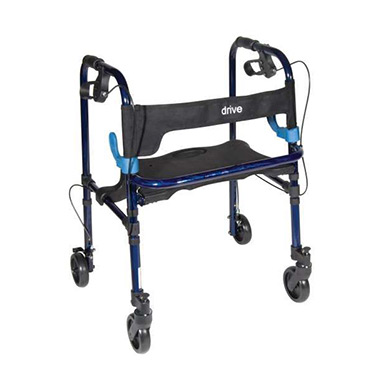 Clever Lite Rollator Walker with Casters by Drive