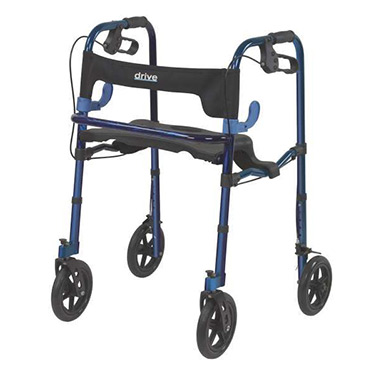 Clever Lite Rollator Walker with Casters