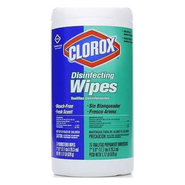 Clorox Surface Disinfectant Premoistened Wipes