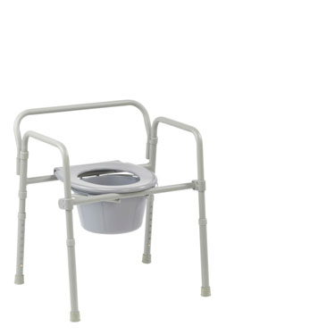 Competitive Edge Line 3-in-1 Folding Commode by Drive