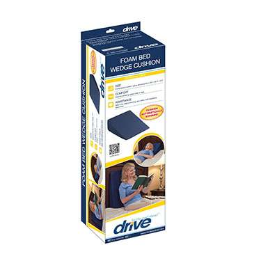 Compressed Bed Wedge Cushion by Drive Medical