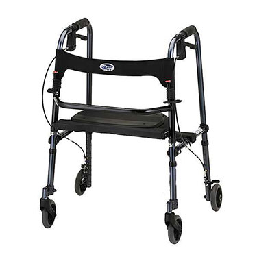 Cruiser De-Light Rollator by Nova (Optional basket not included)