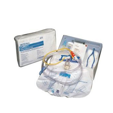 Curity Foley Trays with Ultramer Latex Catheter