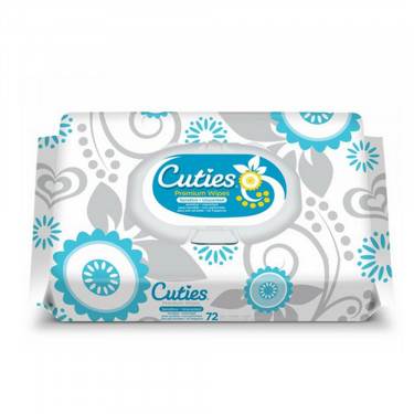Cuties Sensitive Baby Wipes Soft Pack