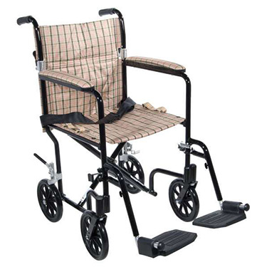 Deluxe Flyweight Transport Chair