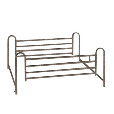 Drive Medical Deluxe Full Length Hospital Bed Side Rails (Pair)