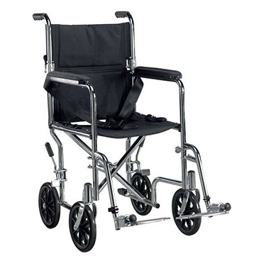 Deluxe Go-Kart Steel Transport Chair by Drive