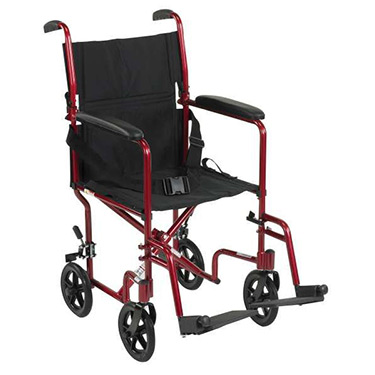 Deluxe Lightweight Transport Wheelchair by Drive