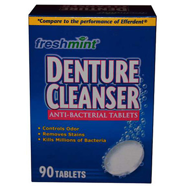 Anti-Bacterial Denture Cleanser Tablets