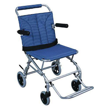 Drive Folding Lightweight Transport Chair with Carry Bag