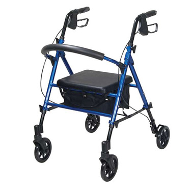 Drive Medical Height Adjustable Rollator 6